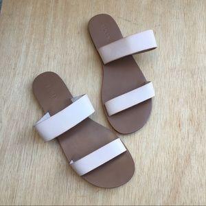 J. Crew Double Strap Slide Sandals
